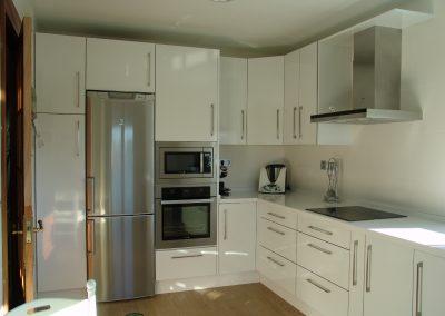 cocina blanco cristal
